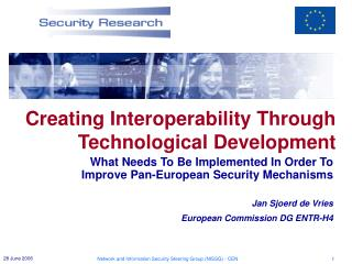 Creating Interoperability Through Technological Development