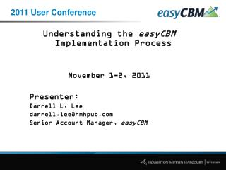 2011 User Conference