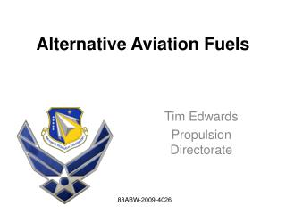 Alternative Aviation Fuels