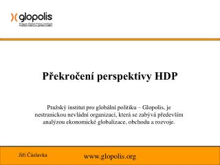 Překročení perspektivy HDP