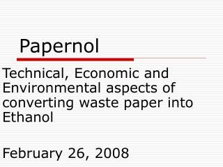 Papernol