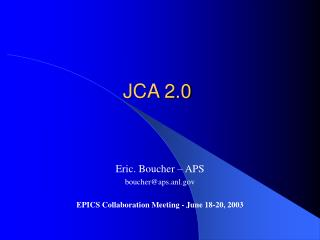 JCA 2.0