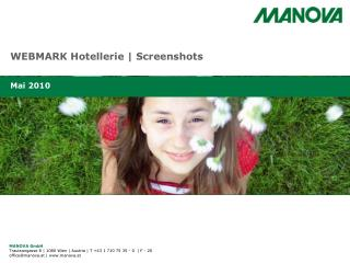 WEBMARK Hotellerie | Screenshots