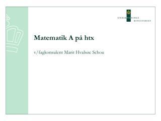 Matematik A på htx