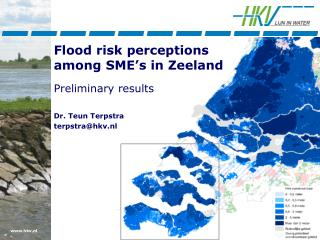 Flood risk perceptions  among SME�s in Zeeland