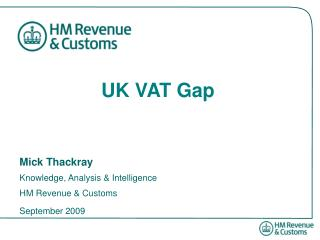 UK VAT Gap