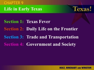 CHAPTER 3 TEXAS CONSTITUTION