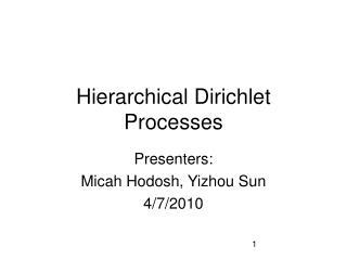 Hierarchical Dirichlet Processes