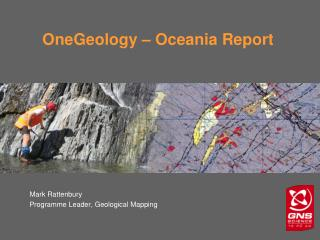 OneGeology � Oceania Report