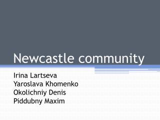 Newcastle community
