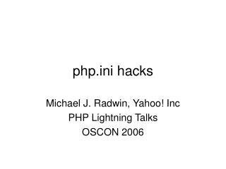 phpi hacks