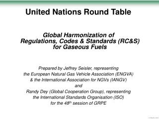 United Nations Round Table