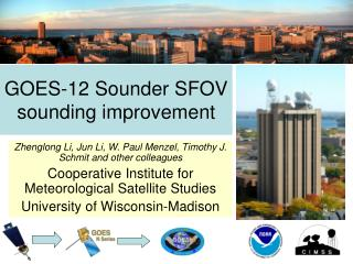 GOES-12 Sounder SFOV sounding improvement