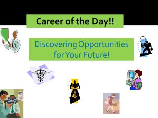 Career of the Day!!