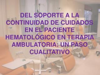 Ventajas a los pacientes: