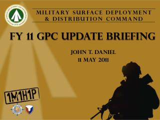 FY 11 GPC UPDATE BRIEFING