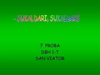 7. PROBA DBH 1-T  SAN VIATOR