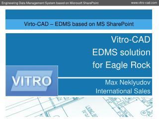 Virto-CAD – EDMS based on MS SharePoint