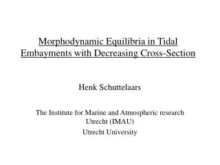 Morphodynamic Equilibria in Tidal Embayments with Decreasing Cross-Section