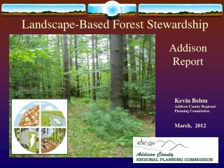 Landscape-Based Forest Stewardship