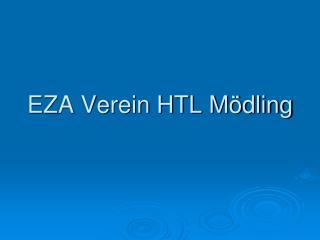EZA Verein HTL M�dling