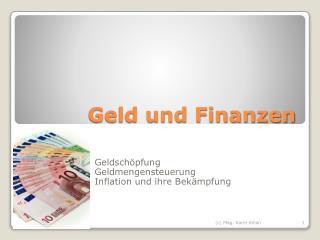 Geld und Finanzen