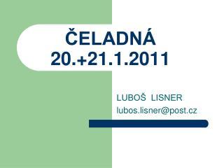 ?ELADN�  20.+21.1.2011