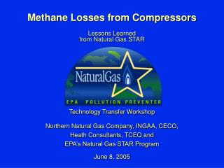 Methane Losses from Compressors