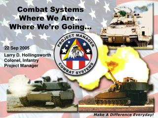 Combat Systems  Where We Are…  Where We're Going…