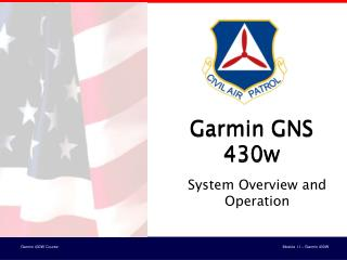 Garmin GNS 430w