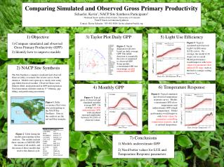 Comparing Simulated and Observed Gross Primary Productivity