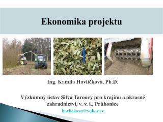 Ekonomika projektu