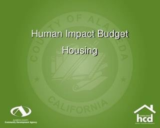 Human Impact Budget Housing