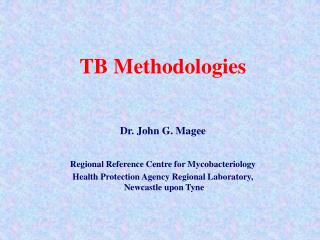 TB Methodologies