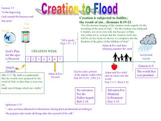 Creation to Flood