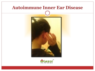 Autoimmune Inner Ear Disease