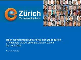 Open Government Data Portal der Stadt Zürich 2. Nationale OGD Konferenz 2012 in Zürich