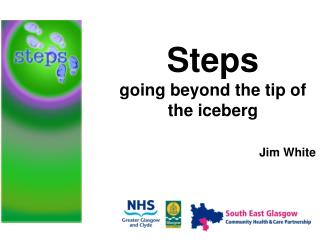 Steps going beyond the tip of the iceberg Jim White