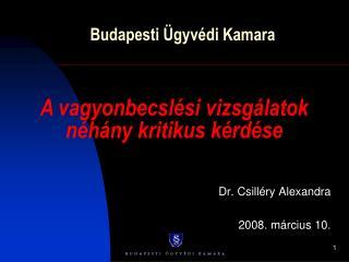Budapesti Ügyvédi Kamara