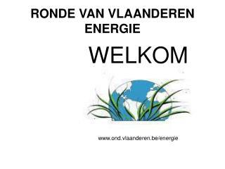 RONDE VAN VLAANDEREN  ENERGIE