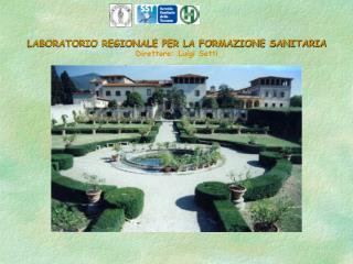 LABORATORIO REGIONALE PER LA FORMAZIONE SANITARIA Direttore: Luigi Setti