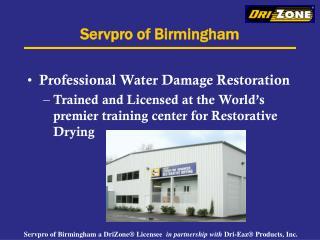 Servpro of Birmingham