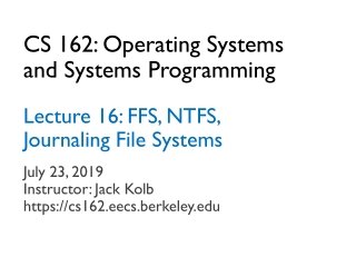 Fully Layered Modern Operating Systems