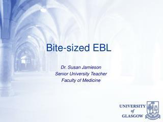 Bite-sized EBL