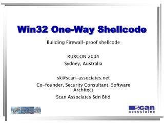 Win32 One-Way Shellcode