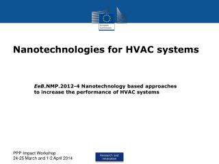 Nanotechnologies for HVAC systems