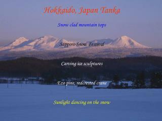 Hokkaido, Japan Tanka