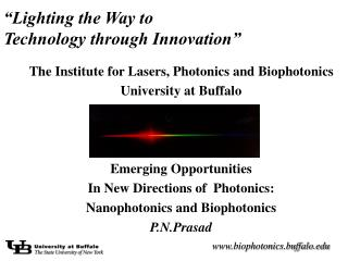 """Lighting the Way to  Technology through Innovation"""