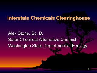 Interstate Chemicals Clearinghouse