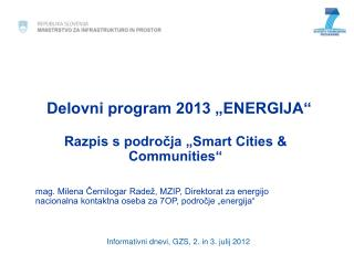 "Delovni program 2013 ""ENERGIJA"""